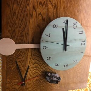 Other - New Zealand Made Wall Clock reclaimed wood